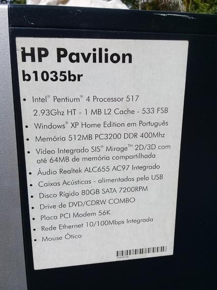 Cpu Hp Pavilion -