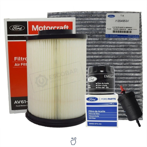 Kit 4 Filtros Completo Ford Focus 1.6 - 2.0 Original