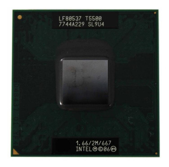 Processador Intel Core 2 Duo T5500 2m 1.66ghz (11963)