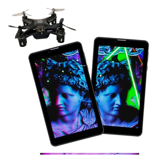 Tablet 3gr 7 16gb Sim Red 3g Oferta 2x1 Combo + 1 Drone