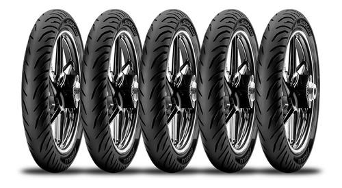 Combo X 5 Unidades Cubierta 80 100 14 Pirelli Super City