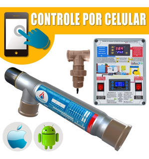 Aquecedor E Ionizador De Piscina 10.000lts Bivolt 100% + App