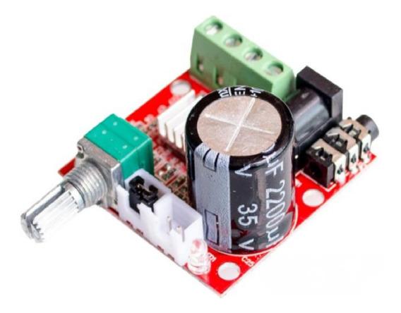 Placa Amplificador Digital 15+15 30w Rms Mod Potência Full