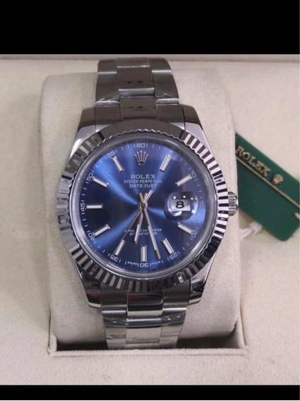 Rolex Datejust 40mm Blue
