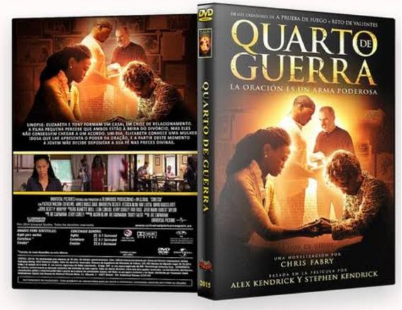 Dvd Filme Quarto De Guerra - (novo Lacrado) Alex Kendrick