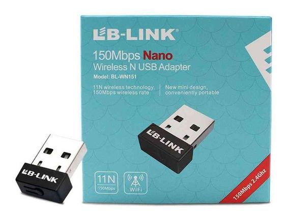 Adaptador Usb 2.0 Wifi 802.11n Tb-link Wireless 150mbps Box