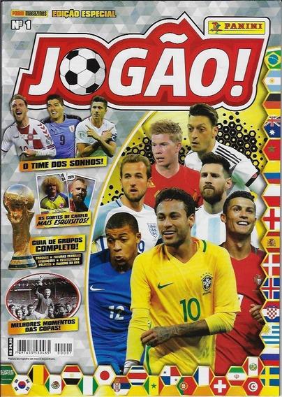 Brasil 2018 Revista Jogão Nº 1 Editora Panini Futebol Copa