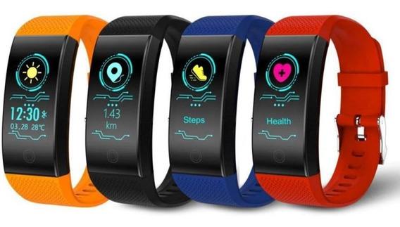 Smartband Reloj Bluetooth Aprueba De Agua Ritmo Cardiaco