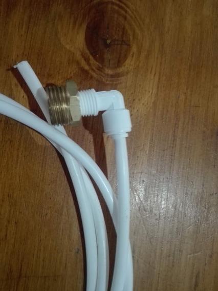 Conector De 1/2 A 1/4 Para Dispenser De Agua +4 Mts Manguera
