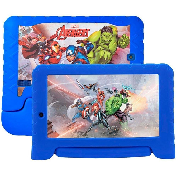 Tablet Multilaser Marvel Avengers 8gb Wifi 7'' Azul