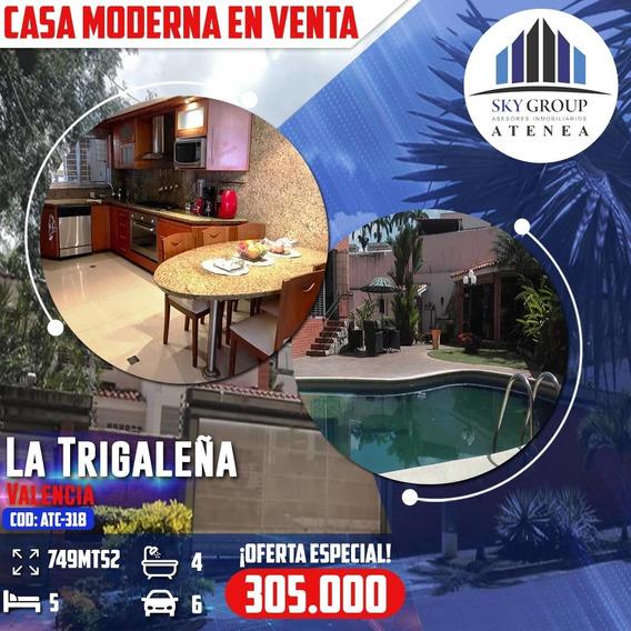 Casa En La Trigaleña Atc-318
