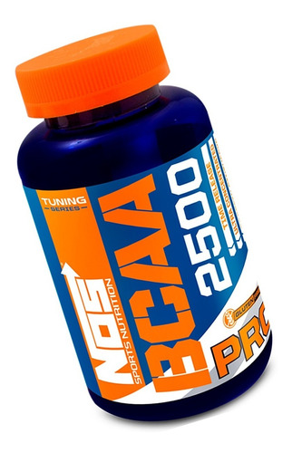 Tuning Bcaa 2500mg Nos Sports Nutrition 120 Comprimidos