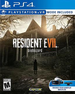 Resident Evil 7 Ps4 Biohazard Fisico Juego Playstation 4