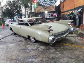 Cadillac Coupe Deville 1959, Clasico, Auto Antiguo