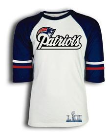 Playera New England Patriots Nfl Para Niño Dama O Caballero