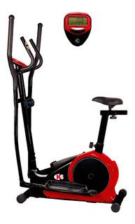 Bicicleta Elíptica Magnética Ejercicios Gym Zeus+ K6 Fitness