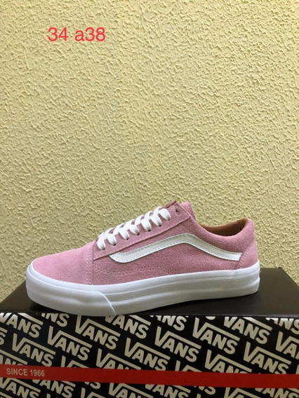 Vans Old Skool (rosa) Foto Original