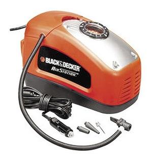 Inflador Electrico Auto 12v-220v +3picos Black Decker Asi300
