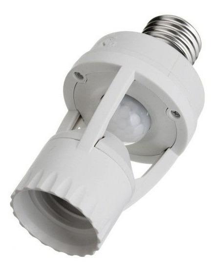 Soquete C/ Sensor De Movimento E Presença Lampada Bocal E-27