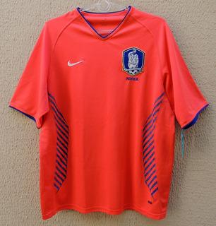 Seleção Coreia Sul 2005 Nº 9 Gg, Mesma Camisa De Jogo, Nike