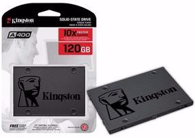 Ssd Kingston 2.5 120gb A400 Sata Iii 500mb/s (10x + Rápido)