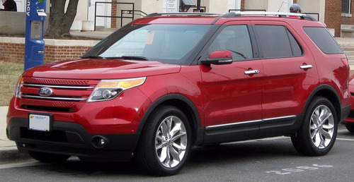Manual De Despiece Ford Explorer (2011-2017) Español