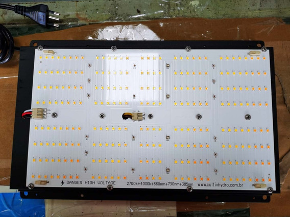 Quantum Board 240w 2700k + 4000k + 660nm + 730nm +385nm