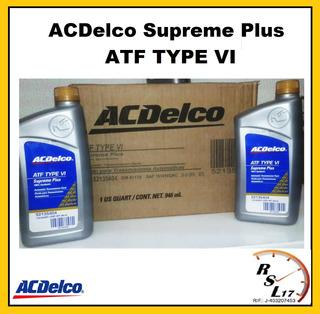 Aceite Hidraulico Acdelco Supreme Plus Atf Type Vi
