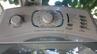Máquina De Lavar Roupa Eletrolux 15kg Turbo Capacidade