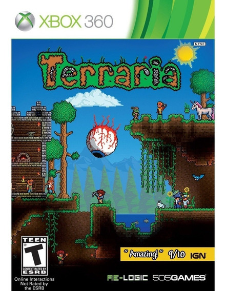 Terraria X360 Nuevo