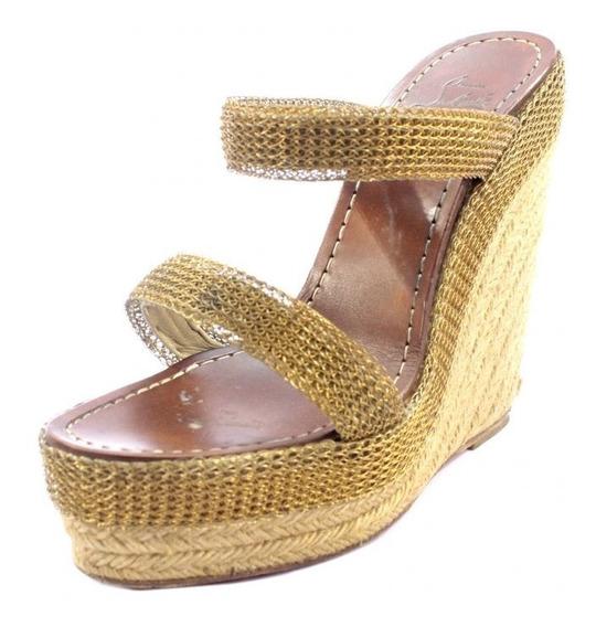Zapatos Dorados Christian Louboutin