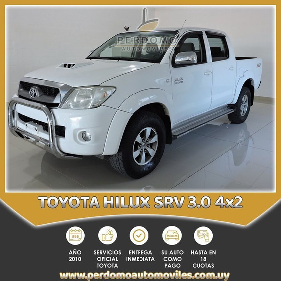 Toyota Hilux Srv 3.0 4x2 2010