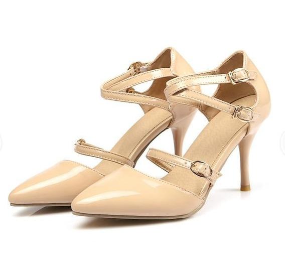 Sapato Feminino Blxqpyt 10923 Importado Frete Grátis