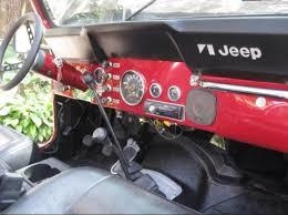 Tablero Jeep Jc7, Cj5, Y Wrangler.