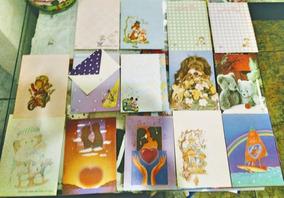 69 Papéis De Carta,4 Com Envelopes