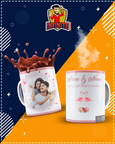 Imagem 1 de 10 de Canecas Personalizadas Namorados  !!!!