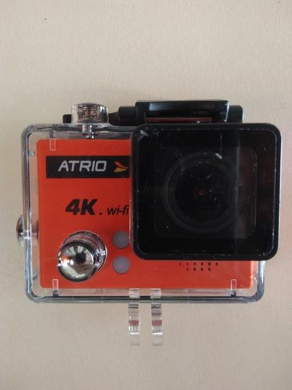 Câmera Esportiva Atrio 4k Mergulho Filma Pro Wifi Pouco Uso