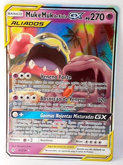 Card Pokemon Muk E Muk De Alola-gx