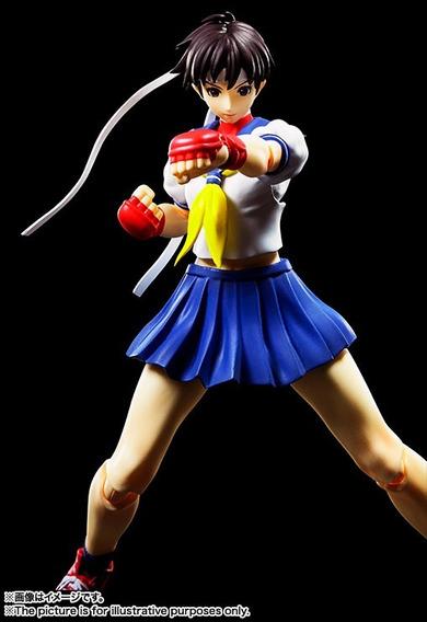 Sh Figuarts Sakura Kasugano - Street Fighter - Bandai Jp