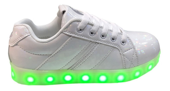 Zapatillas Footy Con Luces Led Y Carga Usb Fxl64 66 Reflex