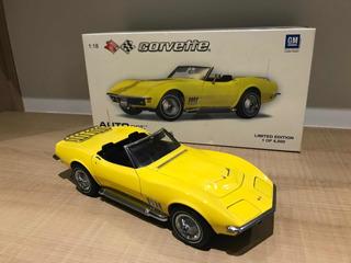 1/18 Corvette C3 L71 1969 Autoart
