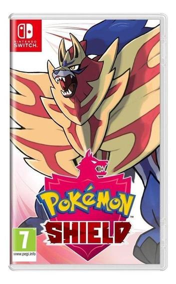Pokémon Shield Switch Mídia Física Novo Lacrado