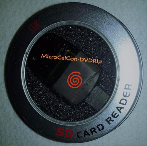 Imagen 1 de 6 de Adaptador Sd Para Sega Dreamcast *ed.esp* No Mas Discos!!