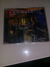 Cd Megadeth The System Has Foiled