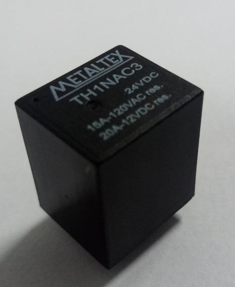 Relé Miniatura 24vdc Th1nac3 15a 120vac/20a 12vdc Kit C/ 5un