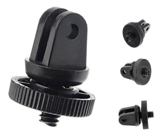 3x Adaptador 1/4 Tripie Para Camaras Sony Accesorios Gopro