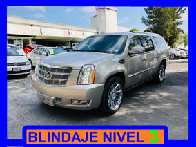 Cadillac Escalade2009 Blindada Nivel 3