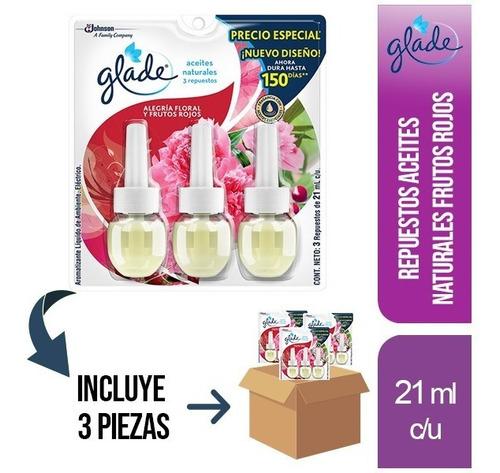 Imagen 1 de 2 de 3 Pz - Glade Plug Ins Aceites Natural 3pk 21ml Frutos Rojos
