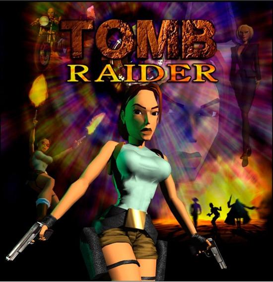 Jogo Tomb Raider // Cd-rom Pc // 1ª Edição // Raridade
