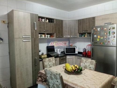 Sobrado Com 3 Dormitórios À Venda, 180 M² Por R$ 430.000,00 - Jardim Adriana - Guarulhos/sp - Ai6589